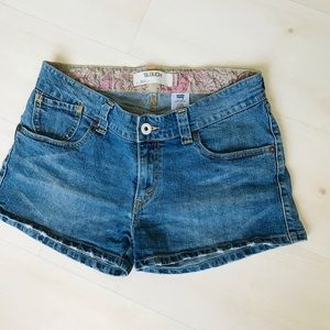 Levi's Jean shorts. Slouch style 504. EUC